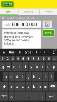 Darmowa Bramka SMS apk screenshot