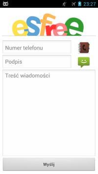 Bramka SMS esfree.pl Tablet apk screenshot