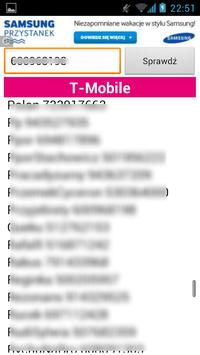 Jaka sieć, operator ? apk screenshot
