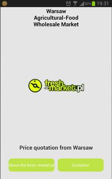 Poland fruit prices poster