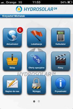 Hydrosolar 24 Mobile poster