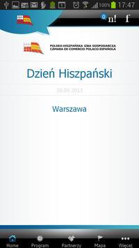 Polsko Hiszpańska Izba Gospod poster
