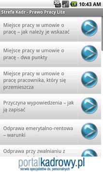 Prawo Pracy Lite apk screenshot