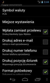 Firemka LITE : szybka faktura apk screenshot