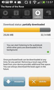 Audioteka - English audiobooks apk screenshot