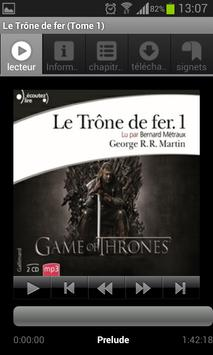 Audioteka Français livre audio poster