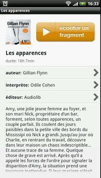 Audioteka Français livre audio apk screenshot