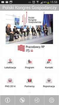 Polski Kongres Gospodarczy poster