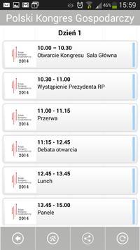 Polski Kongres Gospodarczy apk screenshot