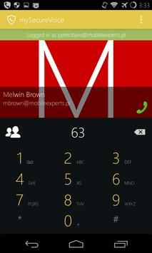 my Secure Voice - safe calls apk screenshot