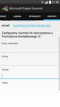 Microsoft Expert Summit 2014 apk screenshot