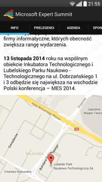 Microsoft Expert Summit 2014 poster