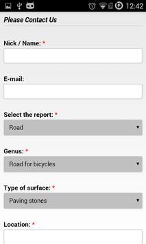 Cycling Map Lublin apk screenshot
