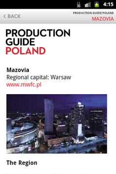Production Guide Poland poster