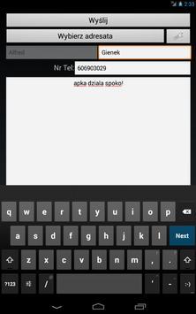 Bramka SMS sms.priv.pl apk screenshot