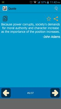 John Adam Quotes apk screenshot