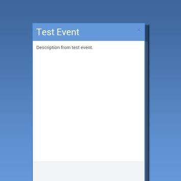 MyEvents apk screenshot