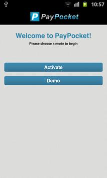 PayPocket Mobile POS poster