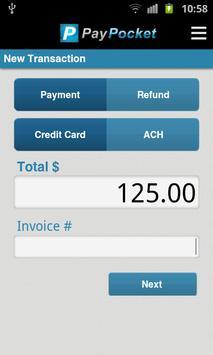 PayPocket Mobile POS apk screenshot
