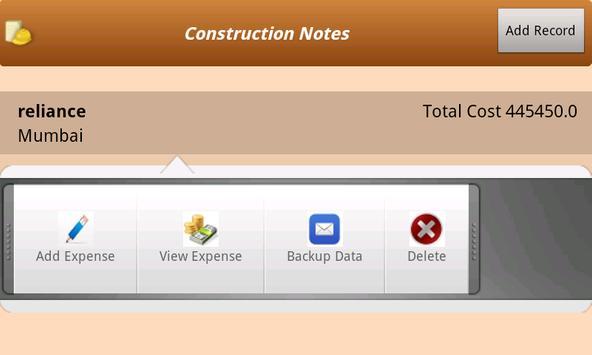Construction Notes apk screenshot