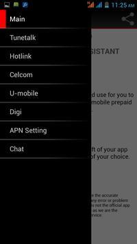 Mobile Prepaid Assistant apk screenshot
