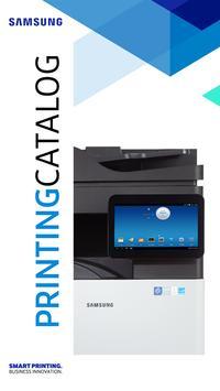 Samsung Printing Catalog poster