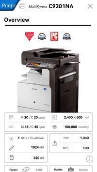 Samsung Printing Catalog apk screenshot
