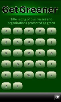 Go Green Eco-Directory apk screenshot