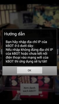 kBOT - Wifi Robot apk screenshot
