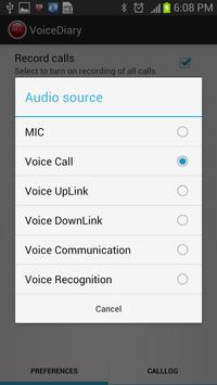 VoiceDiary apk screenshot