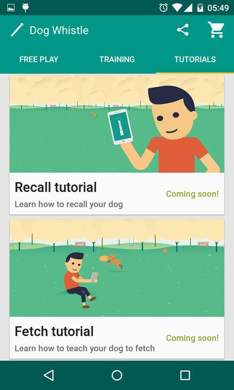 Dog Whistle Free Dog Trainer Apk