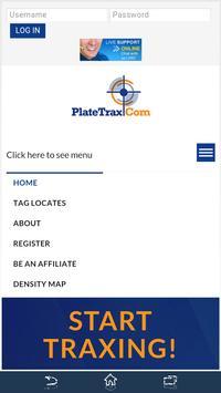 PlateTrax apk screenshot
