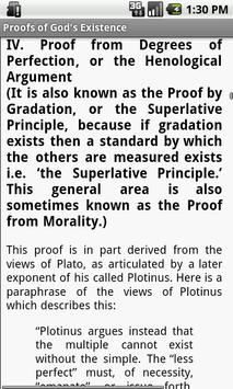 Proofs of God's Existence apk screenshot