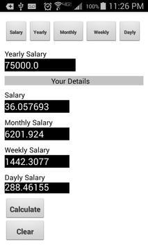 Basic Salary Calculator poster