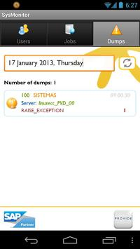 SysMonitor for SAP apk screenshot