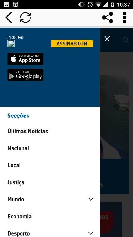 Jn jornal de not cias apk download free news for App noticias android