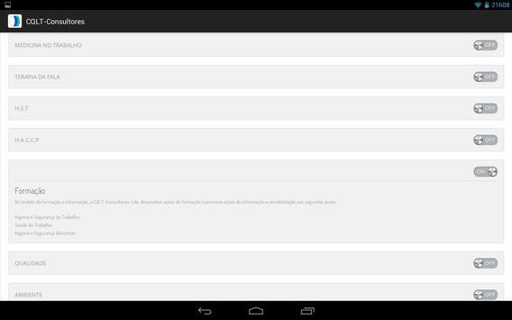 CQLT-Consultores apk screenshot