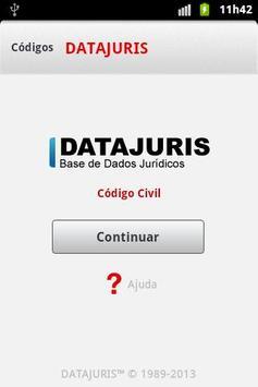 Código Civil Português poster