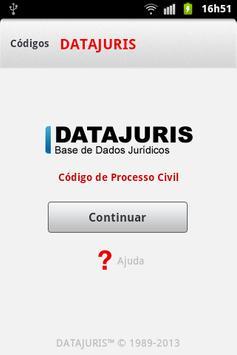 Código de Processo Civil poster