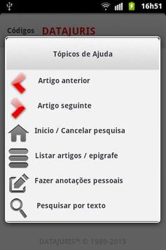 Código de Processo Civil apk screenshot