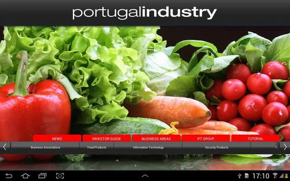 Portugal Industry poster