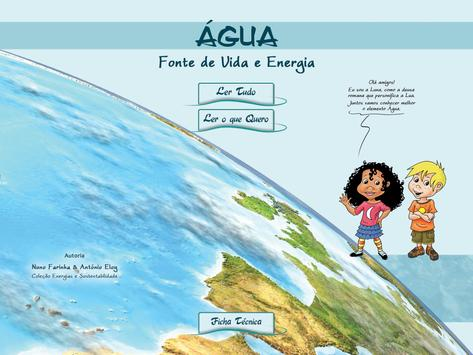 Água - Fonte de Energia e Vida poster