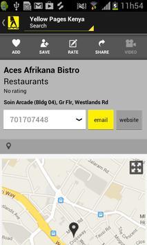 Postel Yellow Pages apk screenshot