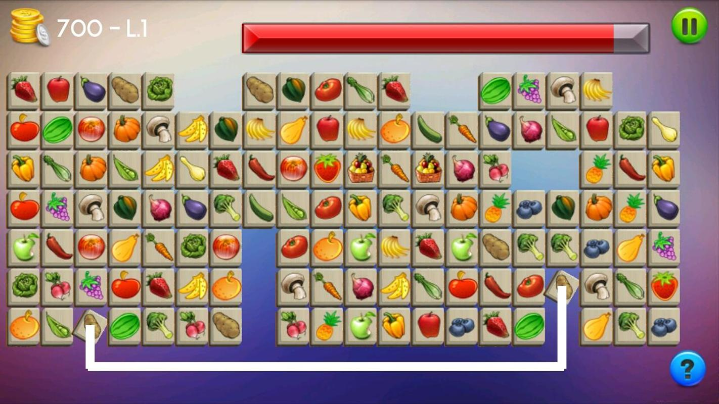 Onet Connect Fruit APK Download - Free Puzzle GAME for ... Funny Games Mahjong Fruit Connect