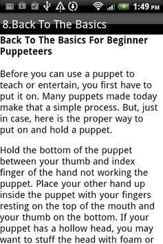 Puppet Making and Sock Puppets apk screenshot