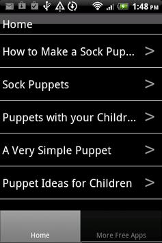 Puppet Making and Sock Puppets poster