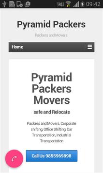 Pyramid Packers poster