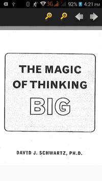 The magic of thinking big apk screenshot