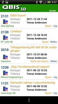 QBIS Service Desk Android apk screenshot