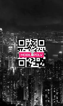 QR CODE Scanner Mobilopoly poster